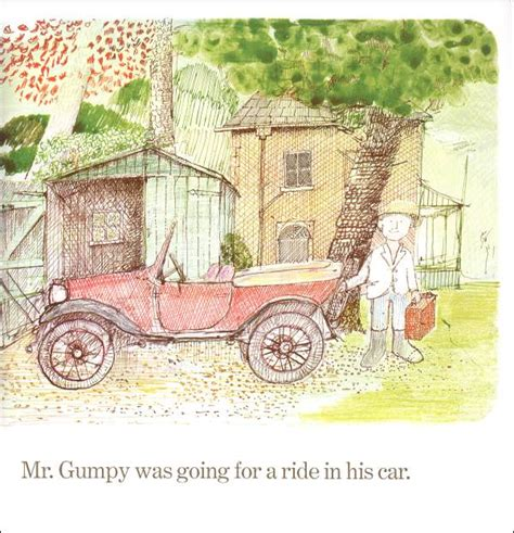 mr gumpys motor car free coloring pages of mr gumpy