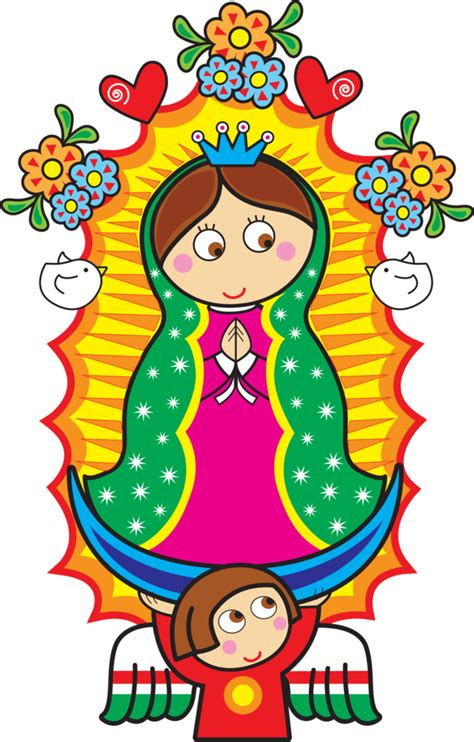 imagenes para dibujar la virgen de guadalupe dibujo animado de la virgen de guadalupe para descargar