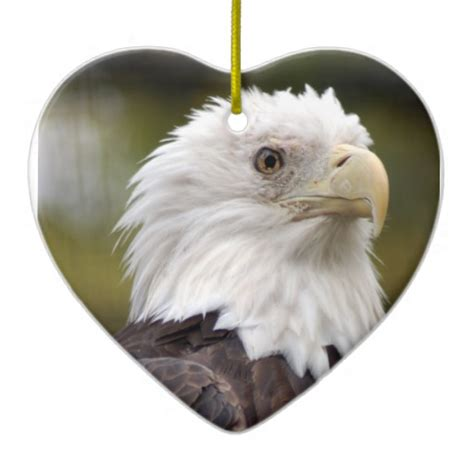 bald eagle christmas ornament zazzle