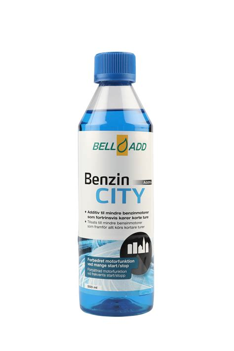 Travo Bell 20 Er bell add benzin city additiv til korte ture 500ml