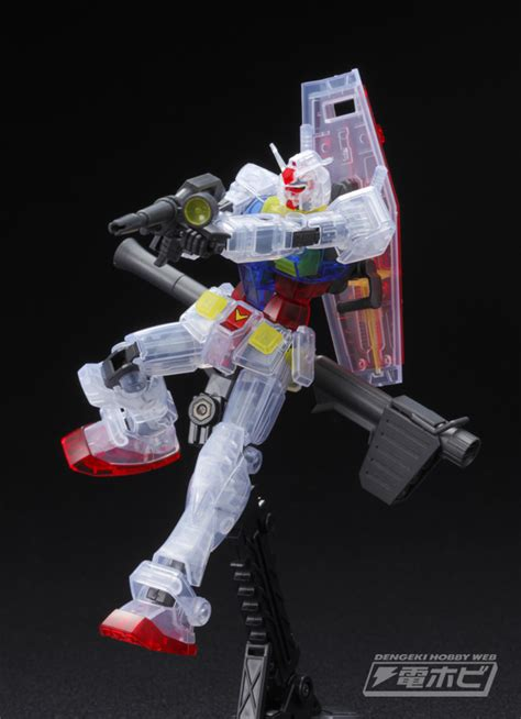 Hg 1144 Rx 78 3 G3 Gundam Expo Limited g リミテッド release hguc 1 144 rx 78 2 gundam clear color ver gundam expo world tour japan 2016