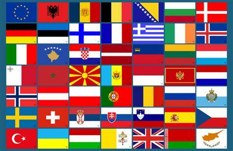 Flaggen Aufkleber Shop by Alle Flaggen Von Europa Als Aufkleber 53 St 252 Ck 8 5 X 5