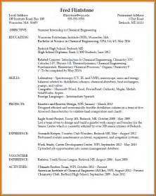 8 images of resume of student lease template