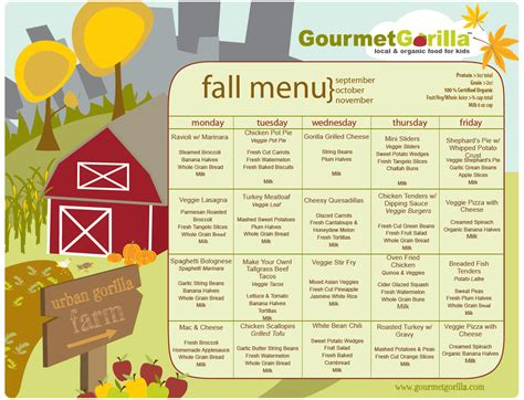 fall menu template targer golden dragon co