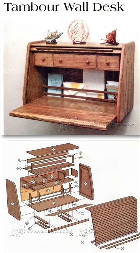 Wall Desk Plans by 1000 Ideas About Wood Shops On Woodworking