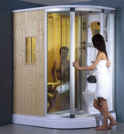 enclosed shower right corner fully enclosed steam shower w sauna room fm