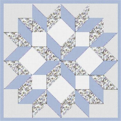 Cross Stitch Quilt Block Patterns by Counted Cross Stitch Pattern Quilt Block Carpenters Wheel