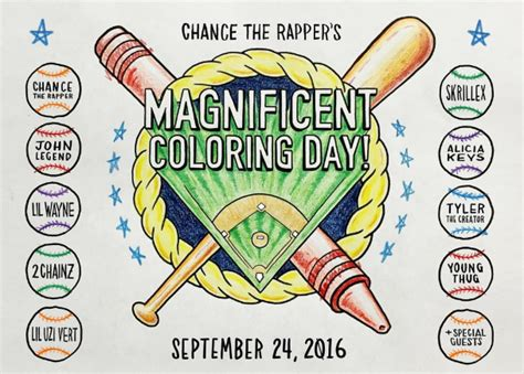 coloring book chance the rapper stereogum livestream chance the rapper s magnificent coloring day