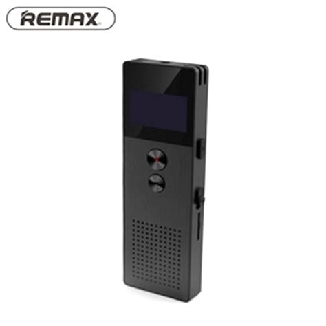 remax perekam suara digital meeting voice recorder rp1 black jakartanotebook