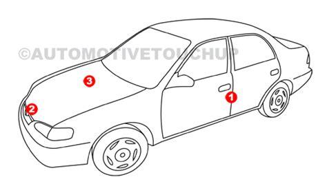 mercedes paint code locations touch up paint automotivetouchup