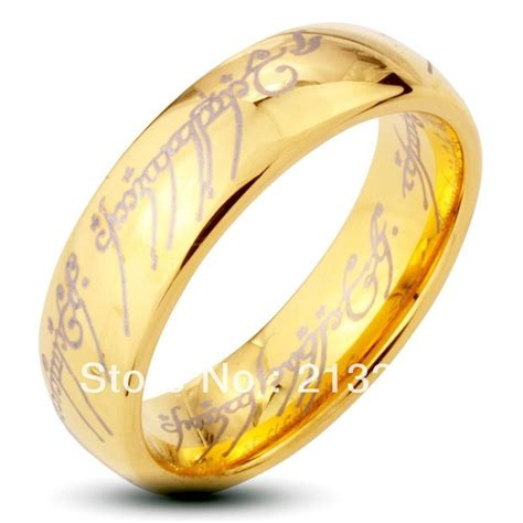 15 best collection of lord of the rings wedding bands