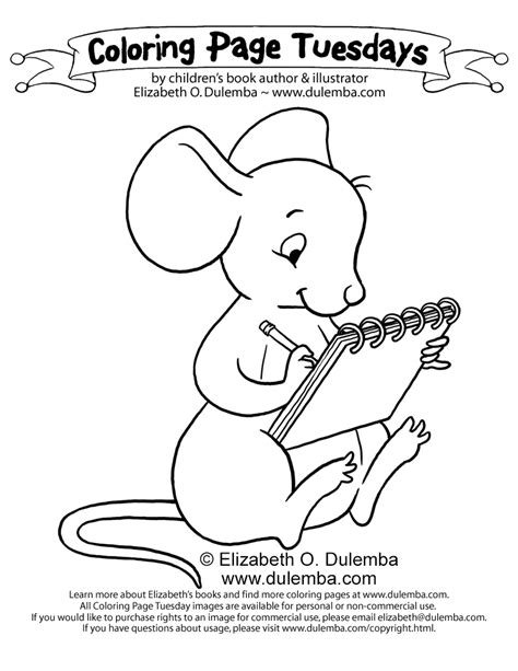 if you take a mouse to school coloring page www imgkid