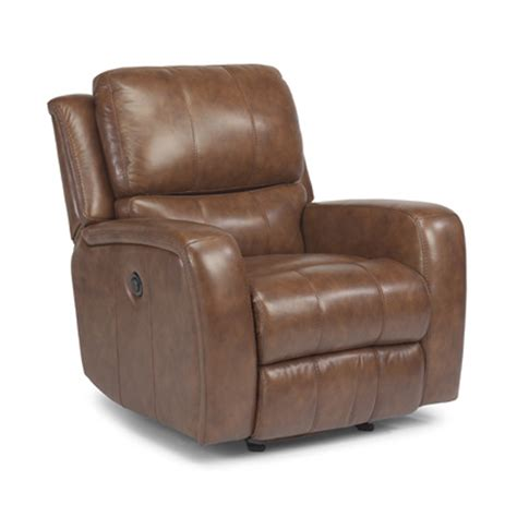 discount leather recliners flexsteel 1157 54p hammond leather power glider recliner discount furniture at hickory park