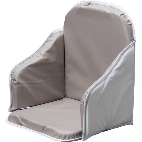 coussin rehausseur chaise coussin de chaise pvc gris de combelle en vente chez cdm
