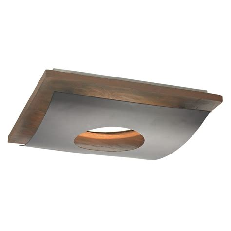 Ceiling Recessed Lighting Slate Decorative Square Ceiling Trim For Recessed Lights 10914 34 Destination Lighting