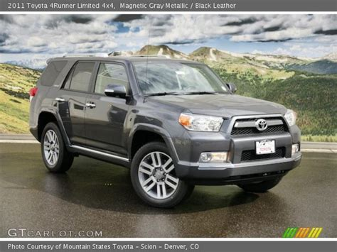 2011 Toyota 4runner Limited Magnetic Gray Metallic 2011 Toyota 4runner Limited 4x4