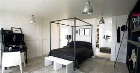 desain kamar tidur hitam putih desain gambar furniture