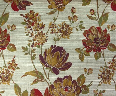 curtain fabric by the yard flower red fabric by the yard curtain fabric upholstery fabric