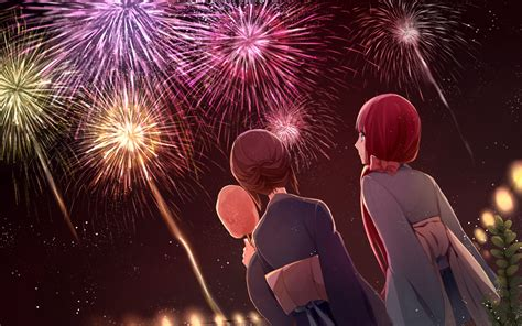 anime fireworks firework day by jm dot on deviantart