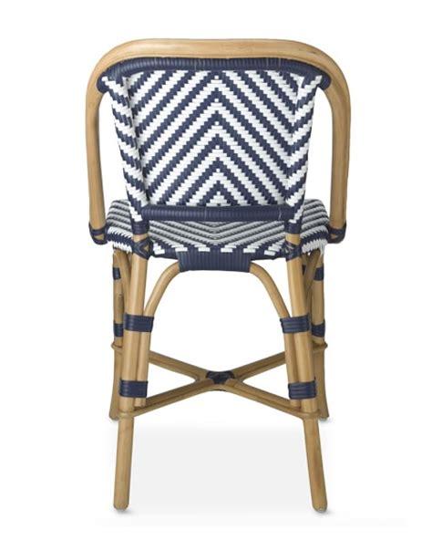 Woven Bistro Chairs Parisian Bistro Woven Side Chair Williams Sonoma