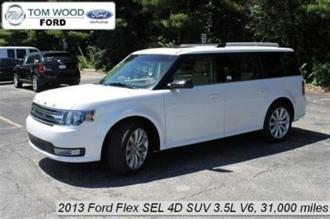 purchase used 2013 ford flex sel in 3130 e 96th st indianapolis indiana united states for