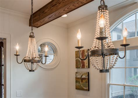french provencial style dining room chandeliers rustic