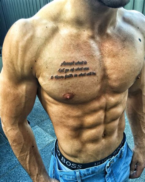 meaningful chest tattoos for men best 25 chest quotes ideas on
