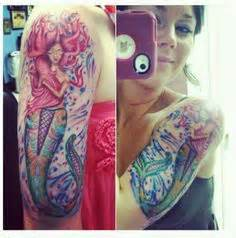 watercolor tattoos tallahassee mermaid tattoos mermaids and tattoos and on