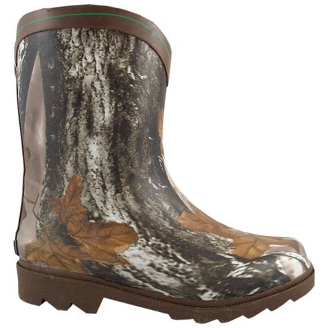 Sepatu Boots Clasic Pria Kickers Seahrs High 3 Warna Terkeren smoky mountain boots kid s muddy river camo waterproof rubber boot shoes baby