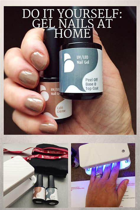 diy gel nails at home by gel