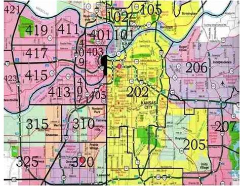 kansas city zip code map kansas city area code map swimnova