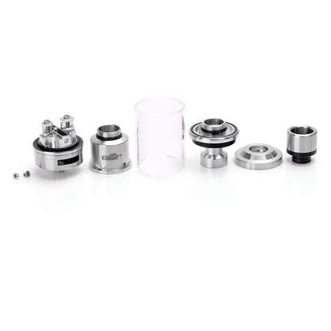 Authentic Eleaf Lyche Rta Ss Limited authentic eleaf lemo 3 rta 23mm 4ml silver rebuildable tank atomizer
