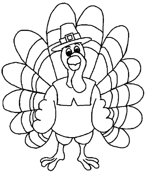 printable blank turkey free printable thanksgiving coloring pages for kids