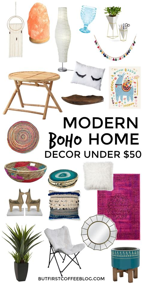 b home decor modern boho home decor that you can get for under 50