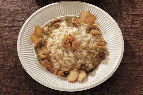 zenzero ricette cucina ricetta risotto allo zenzero la cucina italiana