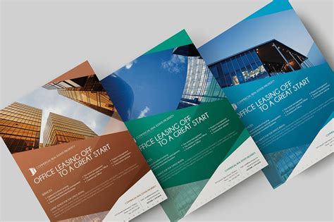 Top 25 Real Estate Flyers Free Templates Commercial Property Brochure Template