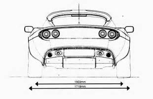 Lotus Elise Dimensions The Lotus Elise S2 Details