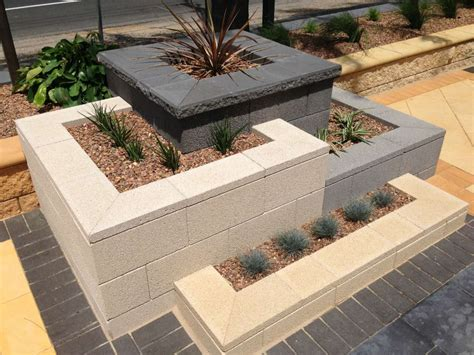 Concrete Patio Bench Australian Paving Centre Pt Adelaide Brick Paving 243