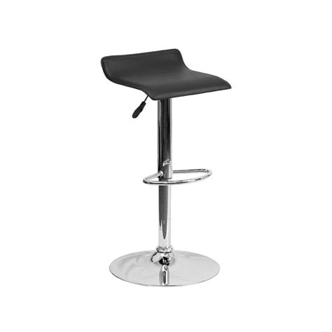 adjustable height metal stools modern adjustable height bar stool chrome backless swivel