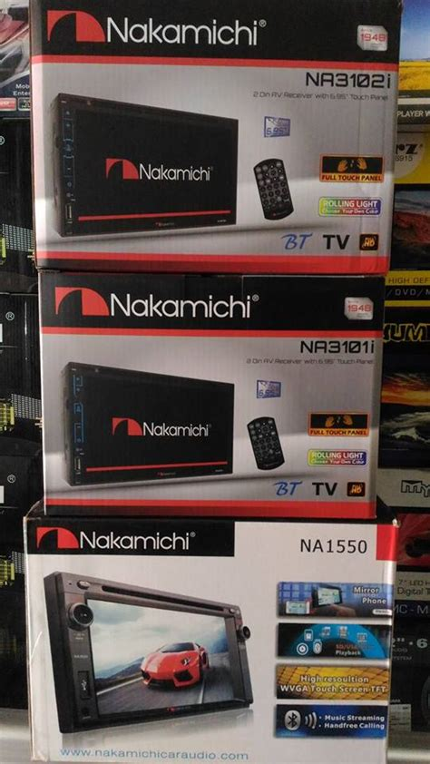 Harga Tv Mobil Merk Nakamichi work shop car audio semarang ws788 promo unit car