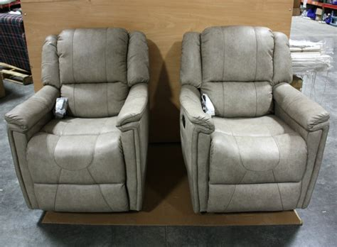Glider Recliners For Sale Rv Furniture Payne Leather Vinyl Swivel Glider