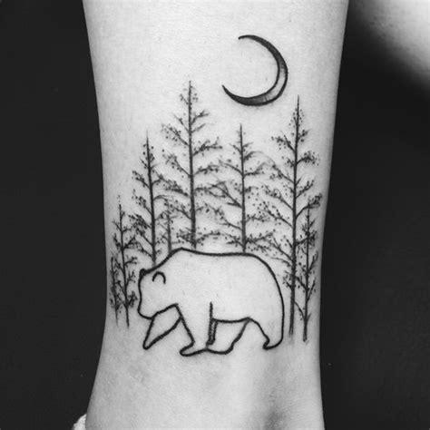 bear tree tattoo 25 best ideas about tattoos on