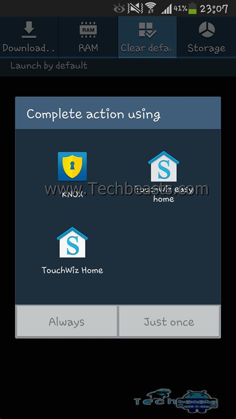 reset android browser default how to reset default preferences for apps on on android