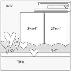 8x8 Sketches by 25 Best Ideas About 8x8 Scrapbook Layouts On