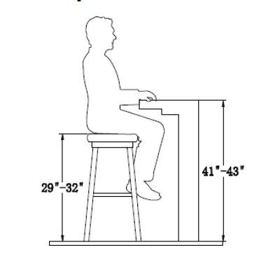 bar stool dimensions standard your guide to finding the perfect bar stool height