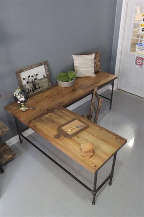 industrial desk l stylish desks with industrial designs and details