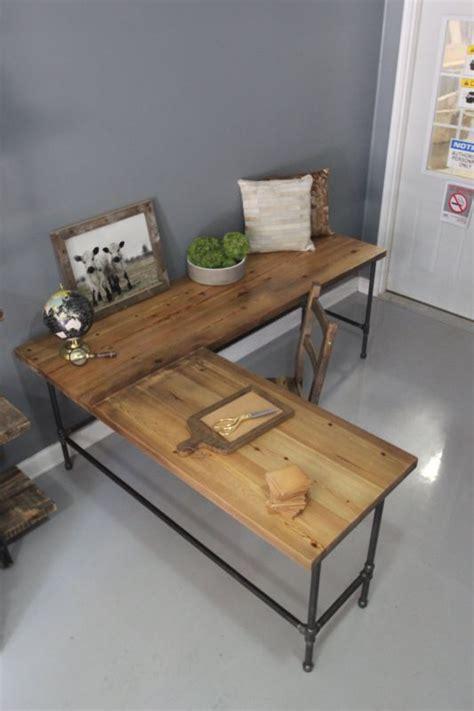 L Shaped Wood Desk Plans
