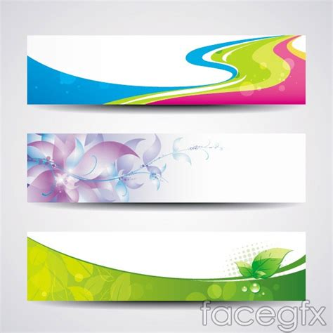 free banner layout design creative banner templates vector over millions vectors