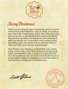 on the shelf letter from santa template on the shelf arrival letter printable review ebooks