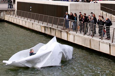 how to make a giant paper boat inhabitat sustainable design innovation eco